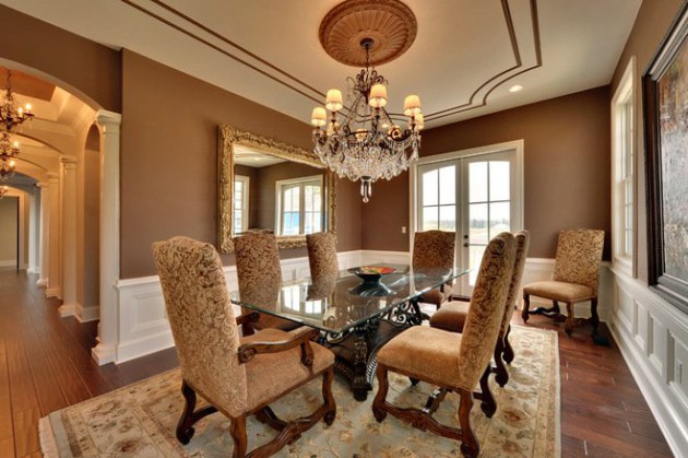 19 Brilliant Dining Room Designs With Glass Table