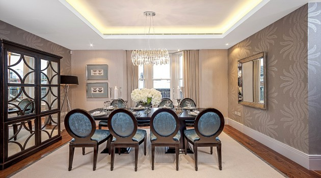 20 Extravagant Dining Room Design Ideas