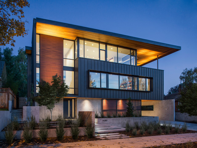 20 Unbelievably Beautiful Contemporary Home Exterior Designs Part 1 2 - 15+ Modern Exterior Design For Small Houses Images