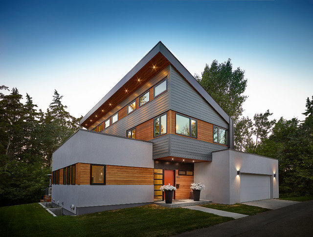 20 Unbelievably Beautiful Contemporary Home Exterior Designs - Part 1