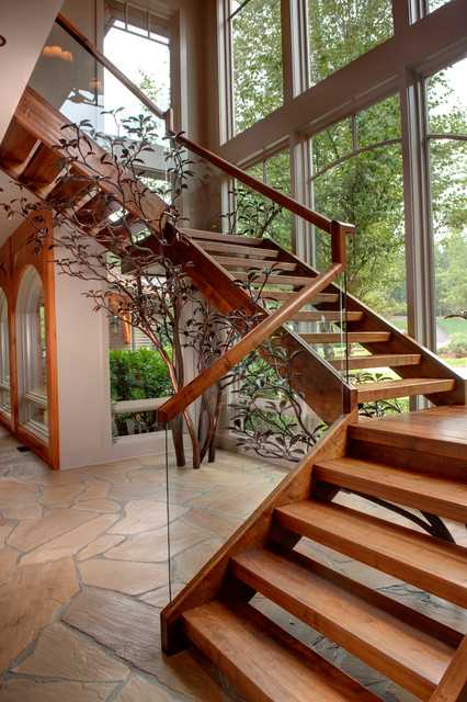 20 Uplifting Rustic Staircase Designs That You Cant Dislike