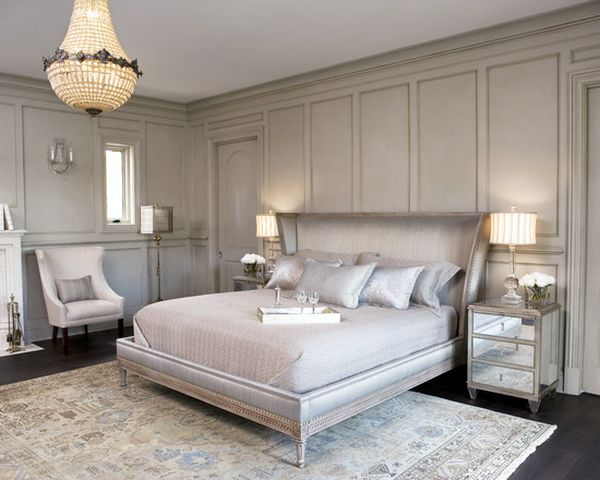 14 Silver Bedroom Designs For Royal Look In The Home