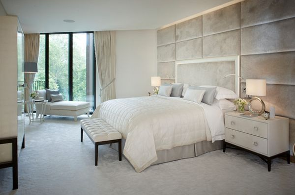 17 Beautiful Bedrooms With Floor To Ceiling Headboard