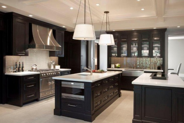 dark kitchen design ideas.  16 Dramatic Dark Kitchen Design Ideas