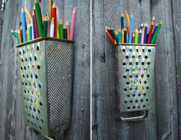 17 Genius Ideas To Repurpose Your Old Unused Kitchen Utensils