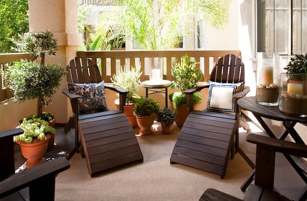 19 Fantastic Ideas For Decorating Small Balcony