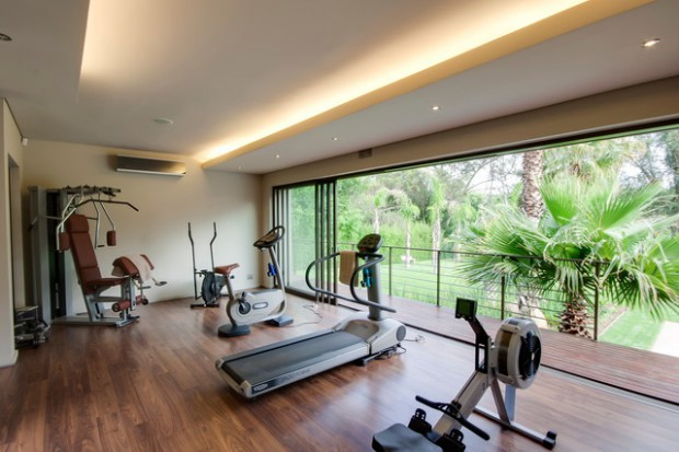18 Fascinating Open Concept Gym Design Ideas For Healthy Life