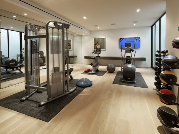 Home Gym Design Ideas: 18 Fascinating Open Concept Gym Design Ideas For Healthy Life