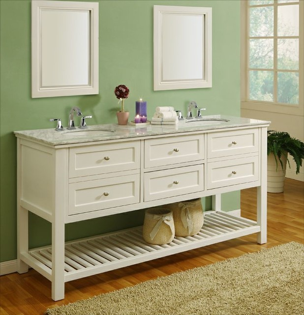 12 Ideas How To Repurpose Vintage Vanity In Your Modern Bathroom