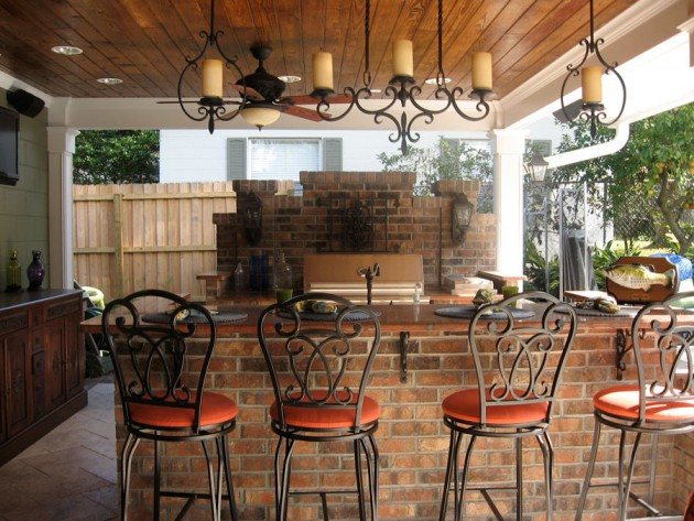 12 Fascinating Outdoor Bar Design Ideas
