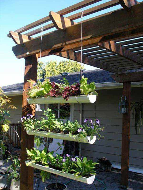 15 Clever Ideas To Repurpose Rain Gutters