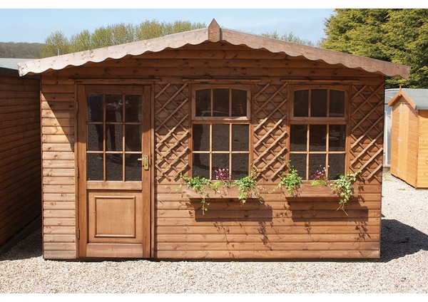 difference between log lap sheds and ship lap sheds - Garden Sheds With A Difference