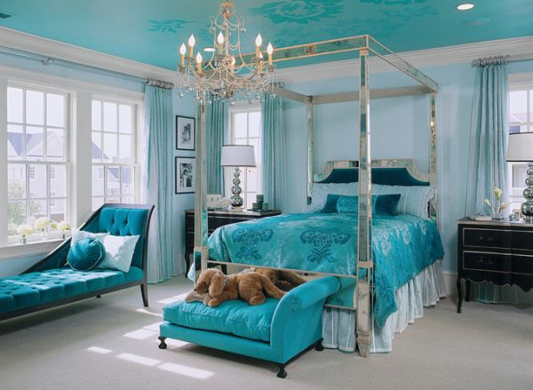 Beautiful & Elegant: Turquoise Details In Your Home