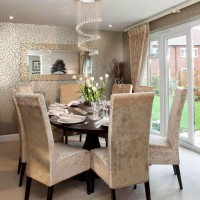 15 Brilliant Wallpaper Ideas For Your Sophisticated Dining room