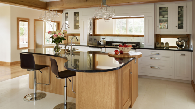 curved kitchen islands with seating 16 modern kitchen designs with curved kitchen island 626