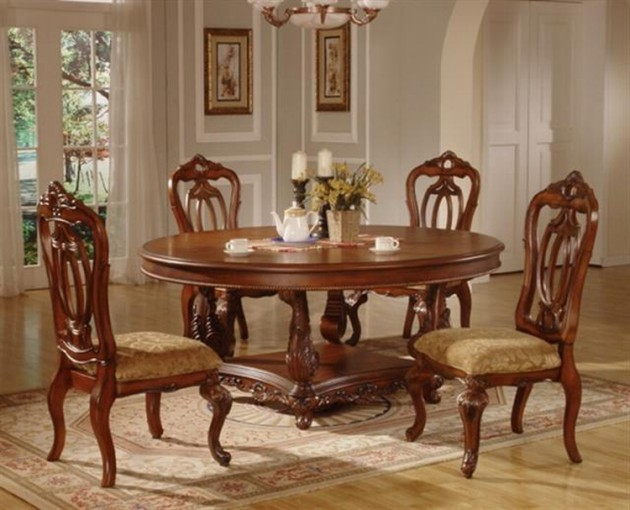 16 fascinating wooden dining table designs for warm atmosphere in the dining area - Www dining table designs ...