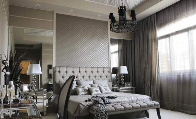17 Beautiful Bedroom Ideas With Tufted Bed