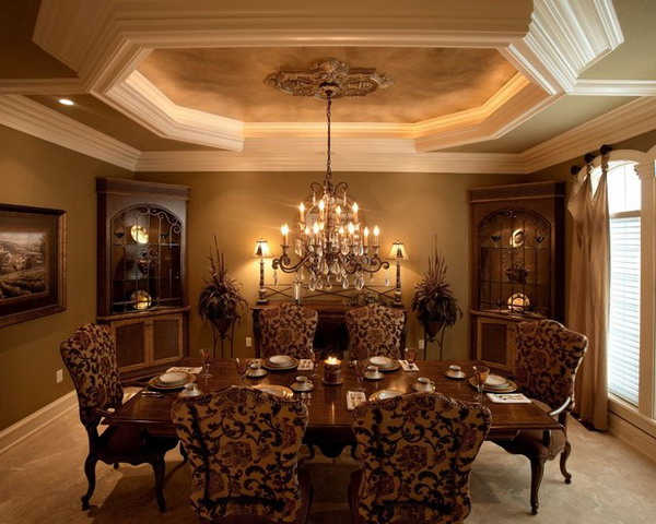 19 stupendous traditional dining room design ideas for your inspiration - Traditional Dining Room