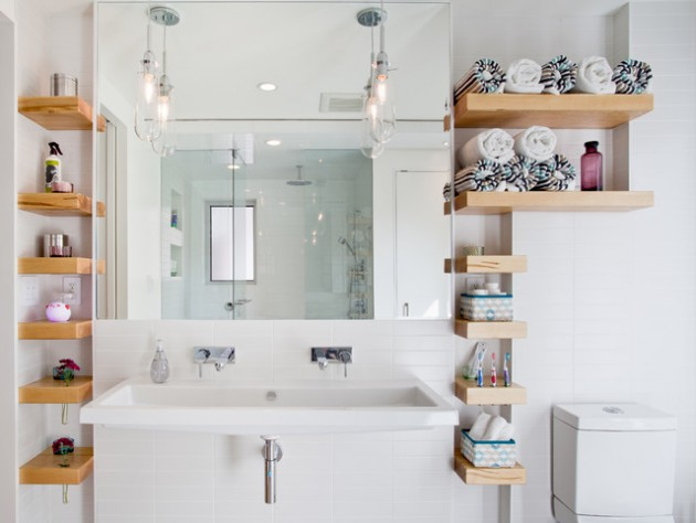 20 Ingenious Ideas For Decorating Small Bathroom With Big Statement