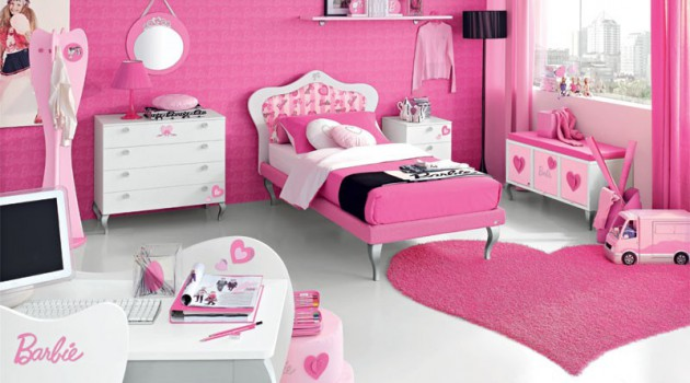 Design Ideas for your Little Girl's Bedroom