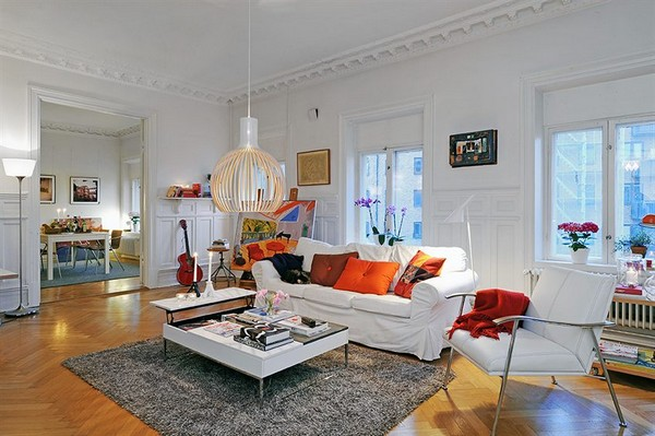 15 Adorable Small Living Rooms With Scandinavian Charm