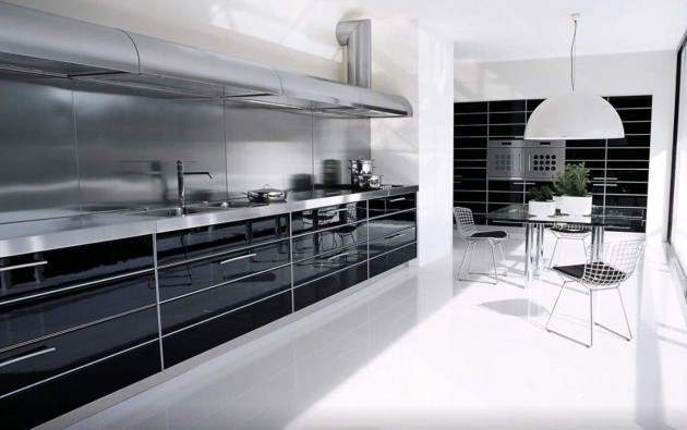 16 Timeless Black & White Kitchen Designs For Every Modern Home