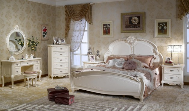 15 Gorgeous French Bedroom Design Ideas,Stylish Cat Furniture
