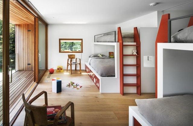 15 entertaining modern kids 39 room designs that will for Camerette bambini design nordico