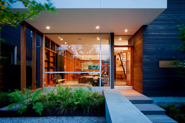 15 Greeting Modern Entry Designs That Will Always Welcome You