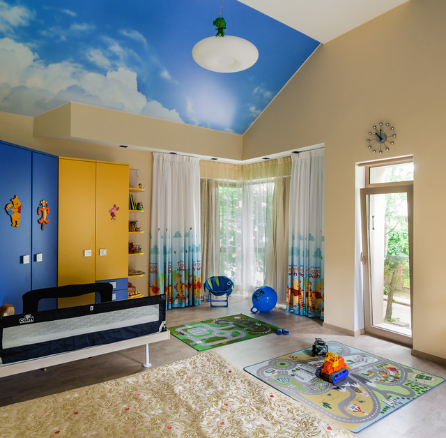 Children S And Kids Room Ideas Designs Inspiration: 16 Playful Contemporary Kids' Room Designs To Give Comfort
