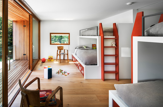 16 Playful Contemporary Kids Room Designs To Give Comfort To Your Children