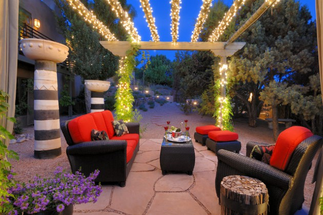 18 Inspirational Ideas To Light Up Your Patio