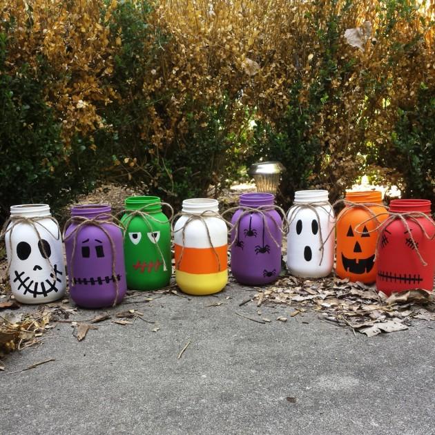 17 Scary Handmade Halloween Mason Jar Decorations With Lots Of Diy Ideas