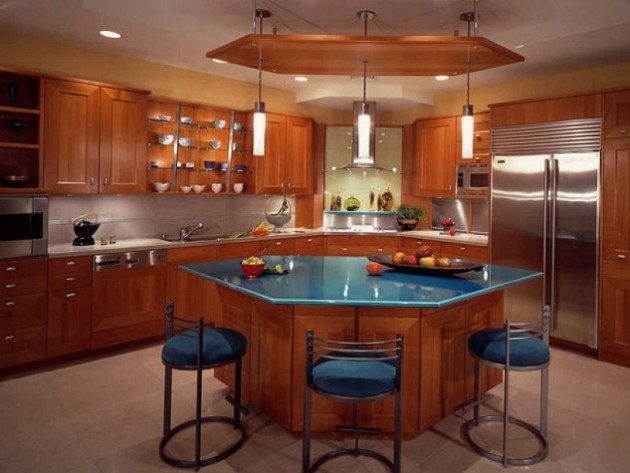 Impressive & Cool Kitchen Island Design Ideas