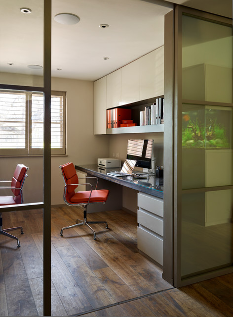 18 Inspirational Contemporary Home Office Designs To Motivate You