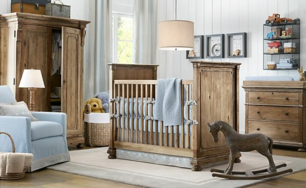 19 Charming Rustic Childs Room Design Ideas