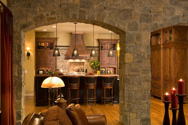 19 Impressive Stone Kitchen Designs For Rustic Charm In