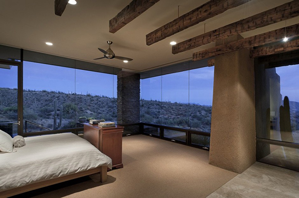 18 Really Amazing Bedroom Ideas WIth Glass Wall To Enjoy The View