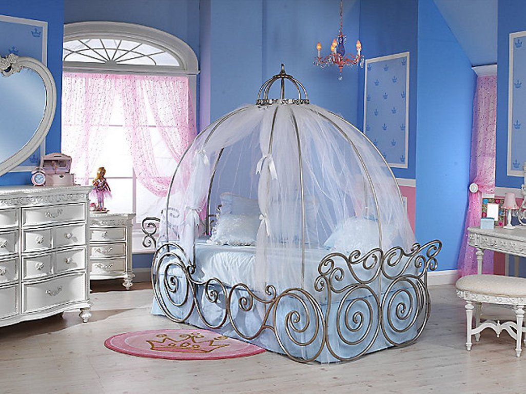 15 magnificent child 39 s room ideas for your little princess for Decoration sleeping room