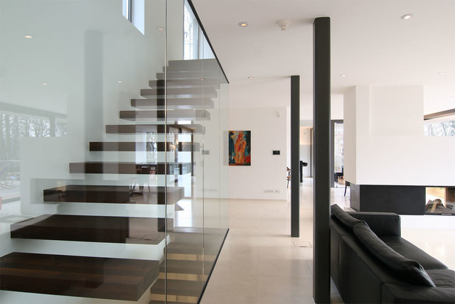 20 Elegant Modern Staircase Designs You'll Become Fond Of