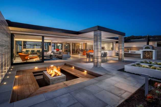 Superieur 20 Incredible Contemporary Patio Designs That Will Bring Comfort To Your  Backyard