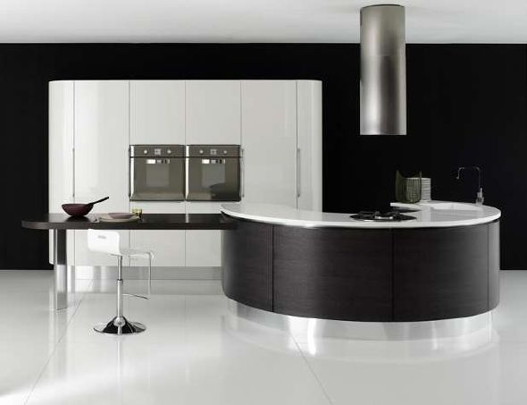 Kitchen Design Black wonderful black kitchen design endearing designs nice decorating