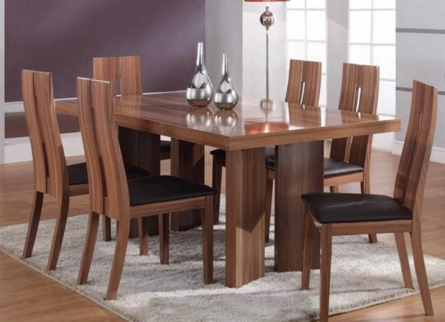 16 Fascinating Wooden Dining Table Designs For Warm Atmosphere In The Dining Area