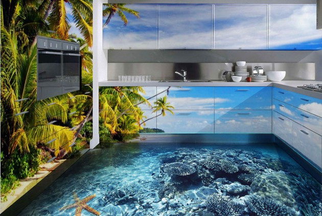 16 Extremely Amazing 3D Flooring Designs To Beautify Your Home
