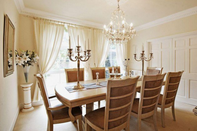 16 Spectacular Chandelier Designs To Improve The Look Of Your Dining Room