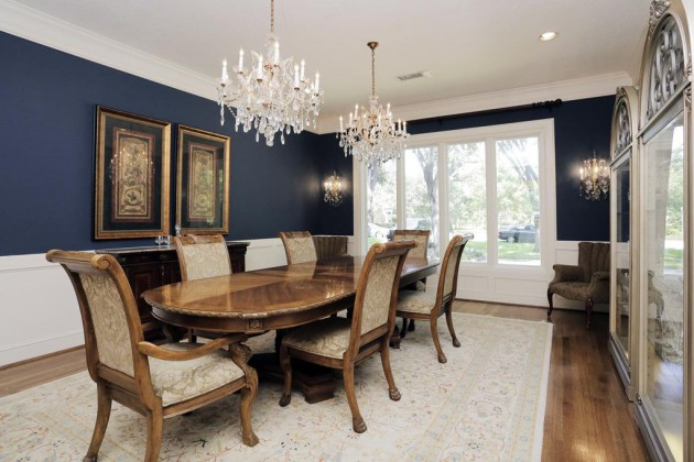 10 Breathtaking Formal Dining Room Design Ideas In Different Colors