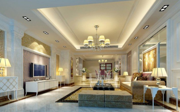 16 Glamorous Living Room Ideas That Exudes With Sophistication