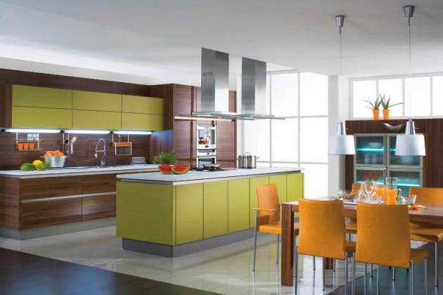 Open Kitchen Design Ideas For Big Spaces
