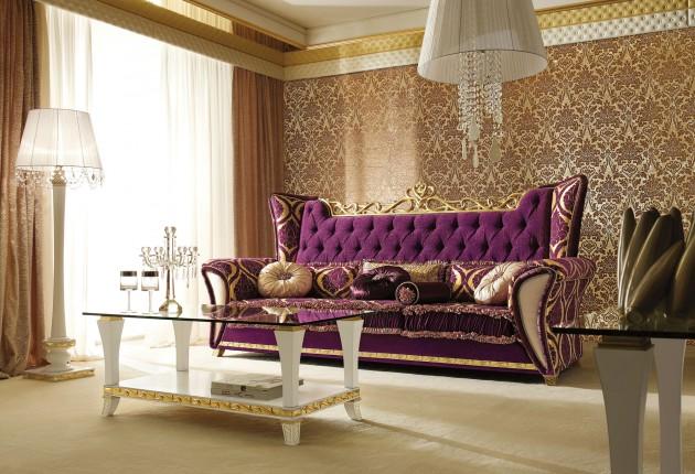 10 Grandiose Italian Sofa Designs For Sophisticated Living Room