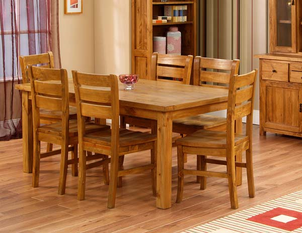 16 Fascinating Wooden Dining Table Designs For Warm  : 463 from www.architectureartdesigns.com size 600 x 463 jpeg 44kB